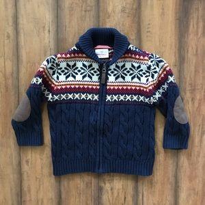 Hanna Andersson Fair Isle Snowflake Sweater